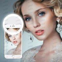 Üretici Şarj LED Flaş Güzellik Dolgu Selfie Lambası Açık Selfie Halka Işık Tüm Cep Telefonu için Şarj Edilebilir MQ50 Ücretsiz DHL