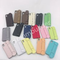 Casos del teléfono del diseñador para iPhone 12 Pro Max 12MINI 11 11PRO 11PRO 11PROMAX 7P 8 PLUS X XR XS XS XSSMAX Funda PU Cuero Samsung S10 S8 S9P Note8 9 10p Cubierta