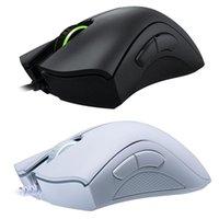 Original Razer DeataDire Wesentliche Kabel-Gaming-Maus Mäuse 6400DPI Optischer Sensor 5 Unabhängige Tasten für Laptop-PC-Spieler USB