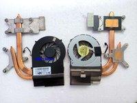 Laptop CPU refrigerador radiador ventilador de diseños de calor para DV6-3000 DV7-4000 604787-001 637609-001 dfb552005m30t f9v8 5v 0.5a1