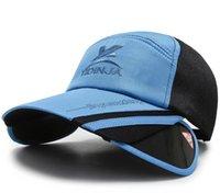 2021 Neue Stil Männer Frauen Mode Baseballmützen Outdoor Sommer Angeln Sun Visor Caps L-1-317