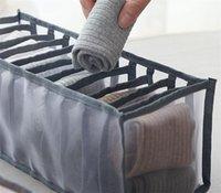 Тип ящика Бюстгальтеры Упаковочные коробки Домашние принадлежности для взрослых детей нижнее белье трусы носки черный серый ящик для хранения 6 5LY3 J2