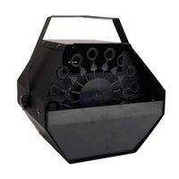 Mais novo design 25w ac110v mini máquinas de bolha fácil de transportar iluminação de palco para casamento / bar preto