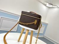 أزياء 2021 جديد M61113 لينة جذع المرأة مصممي أكياس حقيبة يد جلدية تويست مستحضرات التجميل رسول حقيبة تسوق حقائب الكتف حقائب اليد