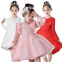 Girl Dress Party Birthday Wedding Princess Toddler Baby Girls Christmas Clothes Children Kids Girl Dresses F1203