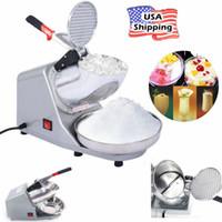 200 W Buz Tıraş Makinesi Kar Koni Makinesi Tıraş Buz Kırıcı Paslanmaz Çelik Bıçak 143 Lbs Ticari Elektrikli Buz Kırıcı Ücretsiz Kargo