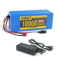 36 V 10AH Ebike bateria baterii litowo-jonowe baterie akumulatorowe do 36 woltów Rowery elektryczne Bateria 450W 350W silnik 250W z ładowarką 2A