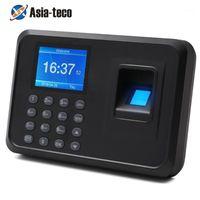 지문 액세스 제어 생체 인식 시간 출석 시스템 시계 레코더 사무실 직원 Device1
