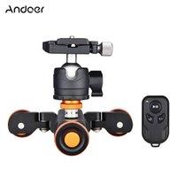 Andoer L4 Pro 전동 카메라 비디오 돌리 사진 무선 원격 제어 기능 // DSLR 카메라 스마트 폰