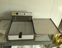 Los fabricantes de pan costan 25L capacidad de aceite eléctrico para la máquina de donas 3000W de acero inoxidable comercial 3000W