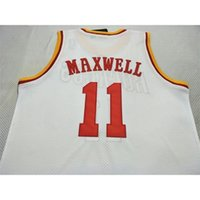 Vintage # 11 Vernon Maxwell 1993-97 Mesh Vintage College Bsaketball Jersey Größe S-4XL oder benutzerdefinierte Name oder Nummer Basketball Jersey