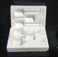 Стеклянные подсвечники подсвечники 3 шт. 1 сентр центральный для свадебного декора Высоконогий стеклянный воск таблицы kka8318