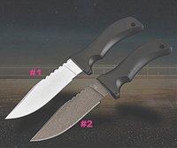 Supervivencia CUCHILLO HECHO DC53 CHOADA DE PUNTO DE GOTOS NEGRO G10 Manejar cuchillas fijas Cuchillos con funda de ABS K