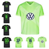 20 21 VFL Wolfsburg 축구 유니폼 2020 2021 홈 ginczek guilavogui 축구 셔츠 멀리 mehmedi kalus malli steffen weghorst 축구 유니폼