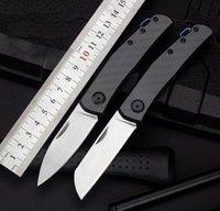 Zt0235 zero tolerância zt0230 d2 lâmina lâmina fibra de carbono caça de campinação faca de acampamento faca de presilha facas A3090