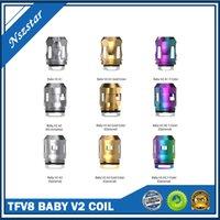 Bobine di ricambio al 100% TFV8 Baby V2 serbatoio A1 0,17 °HM S1 0.15OHM S2 0.15OHM Vendita in lotto Vendita direttamente DHL DHL