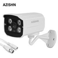 Azishn CCTV Kamera 800TVL / 1000TVL IR Kesim Filtresi 4 adet Diz Ledleri Gece Görüş Metal Açık Su Geçirmez Gözetim Kamera