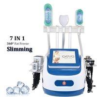 7 em 1 cryo lipólise ultrassonia cavitação de rádio freqüência emagrecimento fresco gordura de gordura da pele apertando a perda de peso lipo