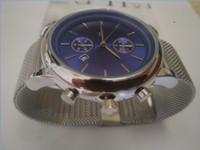 Cheap Mens Auto Quartz Orologi da 43 mm Calendario al quarzo Cool orologio da polso moda moda uomo di lusso orologio all'ingrosso