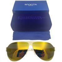 جديد 2021 mykita franz أعلى جودة الرياضة نظارات المرأة العلامة التجارية مصمم الرجال النظارات الشمسية الرجعية ألمانيا ماركة عطلة حمامات الشمس النظارات الشمسية