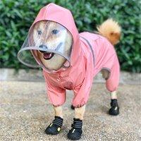 الويلزية كورجي المعطف القلطي bichon frizy شنافير شيبا إينو الكلب الملابس للماء ملابس بذلة الحيوانات الأليفة الزي المطر 201224