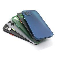 Защита объектива камеры Ультра тонкий прозрачный матовый мягкий PP Case для iPhone 12 11 Pro Max XR XS 6 7 8 плюс