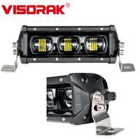 Arbeitslicht Visorak 6D Einzelreihe 12V 24V Offroad LED Arbeitsleiste 4x4 4WD Traktor ATV SUV Truck für Auto Off-Road
