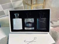 Neue Rabatt Parfüm 3 PCS Sets Aventus Tweed Silber Bergwasser Duft Langlebige Zeit Köln 30ml * 3
