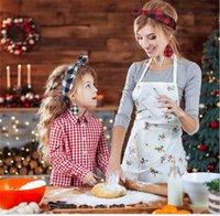 Weihnachtsfamilie Stirnbänder und Ohrringe Sets Eltern-Kind Mutter Kinder Baby Plaid Bowknot Kopfband Leder Ohrringe Schmuck Kopfschmuck E120702