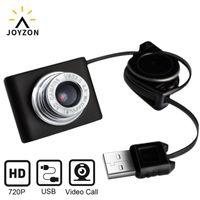 WebCam 720P USB-камера Rotatable Видеозапись веб-камеры с микрофоном для живой трансляции видео вызова конференции работы