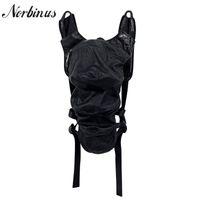 Norbinus punk designer mulheres steampunk mochila mulher gótico pu couro bagpacks viajar sacos de ombro dia mochila feminina