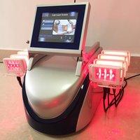 Новая модель для похудения машина двойной волн диодный диодный липо лазерный жир удаление 10 подушек 980 нм 650 нм Липоляревая целлюлита удаления сильная мощность 160 МВт