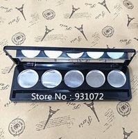 2018 Новые 100 шт. Hot Makeup Pallete Eye Shadow Пустая магнитная палитра Узоры блеска Телесики Косметические контейнеры