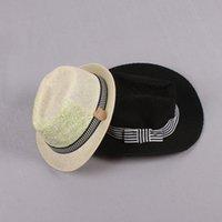 Liquidación Venta Niño Topee Fashion Sombrero de paja Niños gorra Infantil Top Hat Baby Sunbonnet Sun sombrero Niños Casos casuales Z291