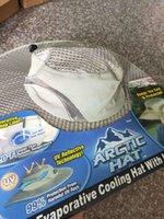TV Yeni Fisherman's Arctic Brim Güneş Kremi Soğutma Klima Şapka Buz Yuvarlak Kap