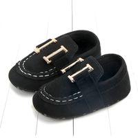 Moda New Baby Shoes First Walker Newborn Boys Girls Crib Zapatos Primeros andadores Recién nacidos 0-1 años Baby Boys Sneakers