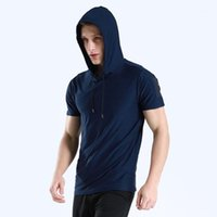 Maglie in esecuzione JS001 Felpe con cappuccio Design riflettente T-shirt da uomo elastici elastico rapido secco palestra palestra uomo calcio jersey sportswear1