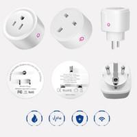 Wifi intelligent sans fil alexa google home UE US UR Royaume-Uni Adaptateur Télécommande / App Contrôle de l'appuie d'énergie Puissance de l'énergie Moniteur Outlet Timer Socket VTKY2052