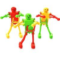 3pcs baby robots jouets coloré horloge de danse robot Robot Robot Wind-up Robot Jouets pour enfants Robot Buddies Play Play