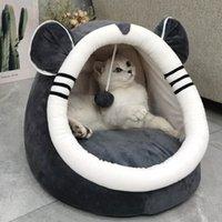 Weiche Baumwolle Nette Mehrzweck Haustiere Katze Häuser Nest Yurt Lustige Katzen Kratzer Boards Tuch Schutz Möbelschleifen Spielen