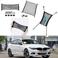 لسيارات BMW 3 سلسلة GT سيارة سوداء الخلفية جذع البضائع الأمتعة المنظم تخزين نايلون عادي مقعد مقعد