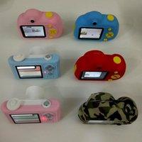 Dijital Kameralar Çocuk Kamera Mini SLR Oyuncak Video Çift