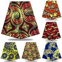 2020 Ankara Afrika Pamuk Balmumu Baskılar Kumaş Afrika Balmumu Yüksek Kalite Parti Elbise Için Afrika Gerçek Angola Balmumu Kumaş XDR03 T200529