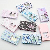 새로운 나비 밍크 속눈썹 상자 가짜 속눈썹 포장 25mm 밍크 속눈썹 상자 빈 래쉬 케이스 속눈썹 상자 선물 케이스