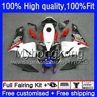 Injection For HONDA CBR 600RR CBR600F5 CBR600RR 2005 2006 48HM.251 CBR600 RR White red blk 05-06 CBR 600 CC 600F5 600CC F5 05 06 OEM Fairing
