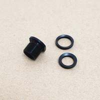 Adattatore di museruola in alluminio e acciaio convertire 1 / 2x28 filettatura a 5 / 8x24 thread