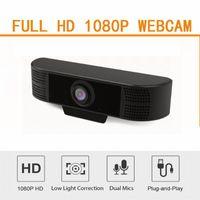 Cámara HobbyLane HD 1080P ordenador webcam de la computadora con el MIC con clip del USB 2.0 / 3.0 para PC portátil profesional