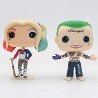 New Funko Pop Harley Quinn The Joker Действие Фигура Продвижение игрушки Подарок Коллекционные Модель Фигуры Xmas Игрушка
