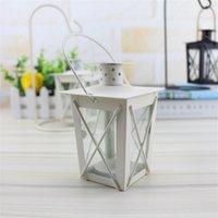 Metall ljushållare järnkonst romantisk vindlampa ljusstake hem ornaments originalitet Candelabra bröllopsfest 5 8Hz K2