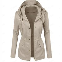 Jacket Women 2020 Plus Size Casual Spring Autumn Hooded Ladi...